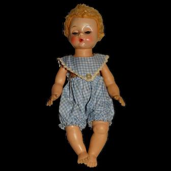 """Madame Alexander Vintage 1960s 7"""" Blonde Little Genius Doll"""