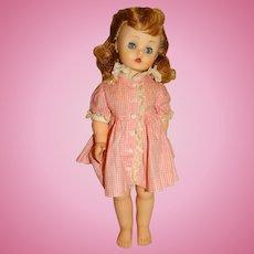 "Madame Alexander 1958 15"" Kelly Doll"