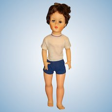 """Madame Alexander 1960s 30"""" Mimi Doll w/Shorts Outfit"""