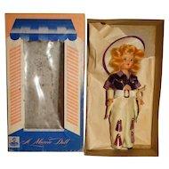 """Marcie 1950s 8"""" Cowgirl Doll w/Box"""