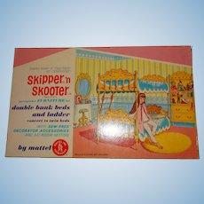 MIB Vintage Barbie Skipper & Skooter Go Togethers Bunk Beds
