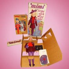 "Remco MIB 1972 20"" Singing Mimi Doll w/MIB Polish Outfit"