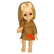 """Hasbro 1965 15"""" Little Miss No Name Doll"""