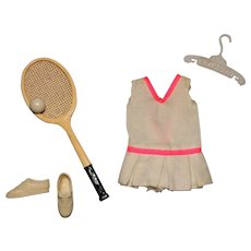 Vintage Skipper Complete Tennis Time Outfit One Owner