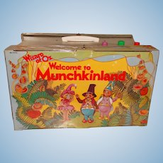 Vintage Mego 1974 Wizard Of Oz Complete Munchkinland Playset with Instructions