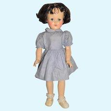 "Ideal 1950s Brunette 20"" P-93 Toni Doll"