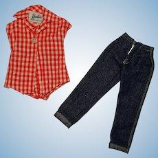 Vintage Barbie Complete PAK Jumpin' Jeans Outfit