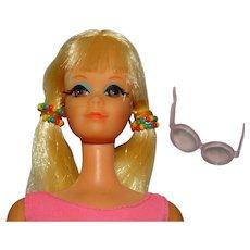 Vintage Blonde Twist & Turn PJ Doll w/Original Beads
