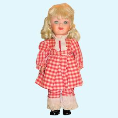 "Uneeda 1960 HTF 17"" Pollyanna Doll"