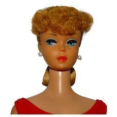 Vintage Ash Blonde Ponytail Barbie Doll