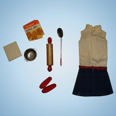 Vintage Skipper Complete Cookie Time Outfit