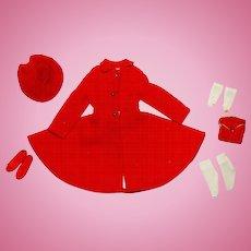 Vintage Skipper Complete Dress Coat Outfit