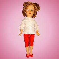 """Ideal 1957 19"""" Shirley Temple Doll w/Flirty Eyes"""