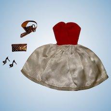 Vintage Barbie Complete Silken Flame Outfit