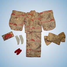 Vintage Skipper Japanese Exclusive Kimono Outfit