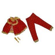 Vintage Skipper Complete Wooly PJs Outfit