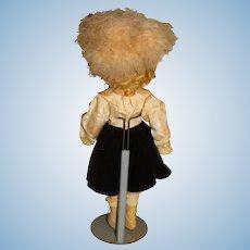 "Madame Alexander Vintage 1930s Composition 15"" Sonja Henie Doll"