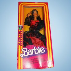 Barbie NRFB 1982 Dolls Of The World Spanish Doll