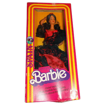 Barbie NRFB 1982 Dolls Of The World Spanish Doll
