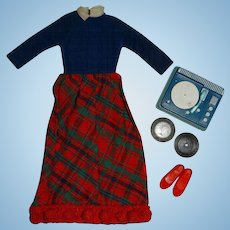 Vintage Skipper Complete Platter Party Outfit