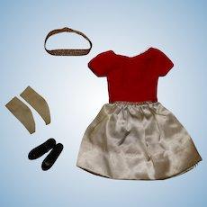 Vintage Skipper Silken Fancy Outfit