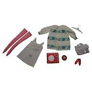 Vintage Francie Complete Sugar Sheers Outfit