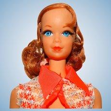 Vintage Redhead Nape Curl Talking Barbie Doll w/Stacey Face TALKS!