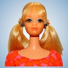 Vintage Blonde Talking PJ Doll w/Beads