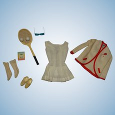Vintage Barbie Complete Tennis Anyone Outfit