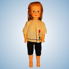 "Ideal 1961 Blonde P-25 25"" Terry Twist Doll"