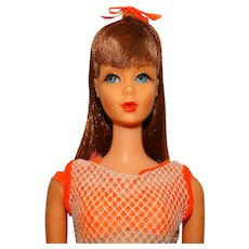Vintage Black Cherry Twist & Turn Barbie Doll