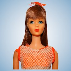 Vintage Black Cherry Twist & Turn Barbie Doll