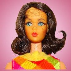 Vintage Brunette Marlo Flip Twist & Turn Barbie Doll