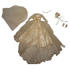 Vintage Barbie Complete Wedding Day Set Outfit