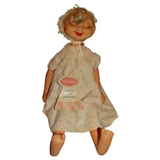 """American Character 1960s 22"""" Suzie The Snoozie Whimsies Doll w/Tag"""