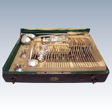 1800 Austrian Sterling Silver Flatware Set Unusual Items 171 Years Old