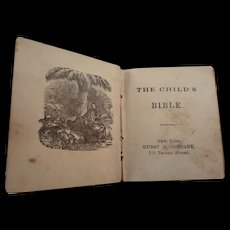 Miniature Book: The Child's Bible