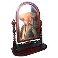 Miniature Dressing Mirror for Doll Display