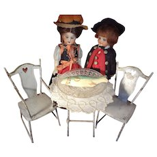 Doll House Tin Bistro Set