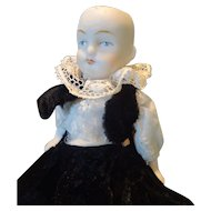 """SALE All-Bisque German Jointed Limb Doll 5 1/4"""""""