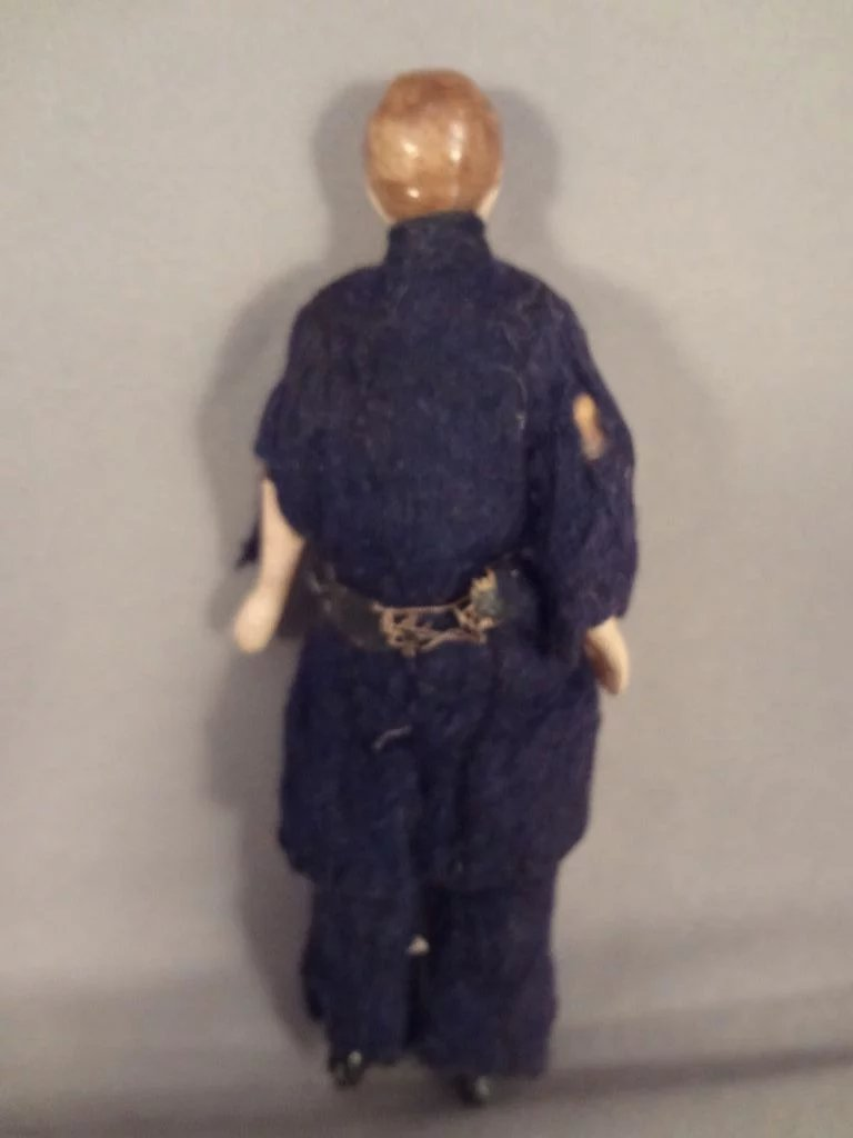 Military Doll House Man In Original Costume Jackie