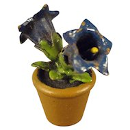 Vienna Bronze Miniature of Bluebells