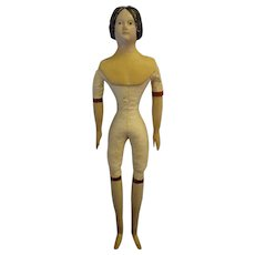 "SALE Wonderful 13"" Papier Mache Millner's Model in Fashion Size"