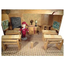 SALE French School Ecole for French Dolls Schoolroom