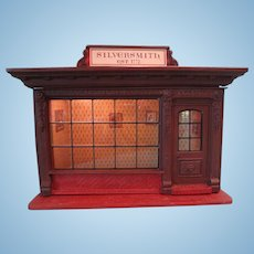 Kupjak Silversmith Shop in Standard Doll House Scale