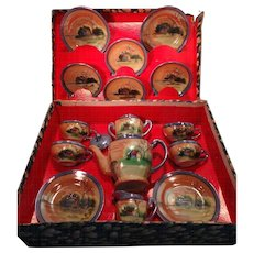 Pussy Willow Tea Set in Original Box