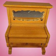 SALE Schneegas Doll House Piano Golden Oak