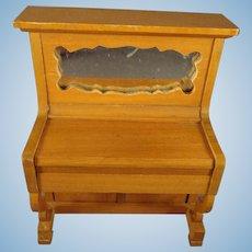 Schneegas Doll House Piano Golden Oak