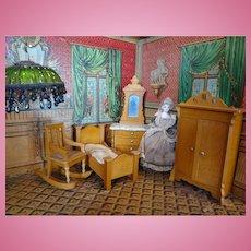 Schneegas Golden Oak Rocking Chair