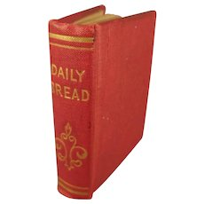 Miniature Book: Daily Bread with Provenance